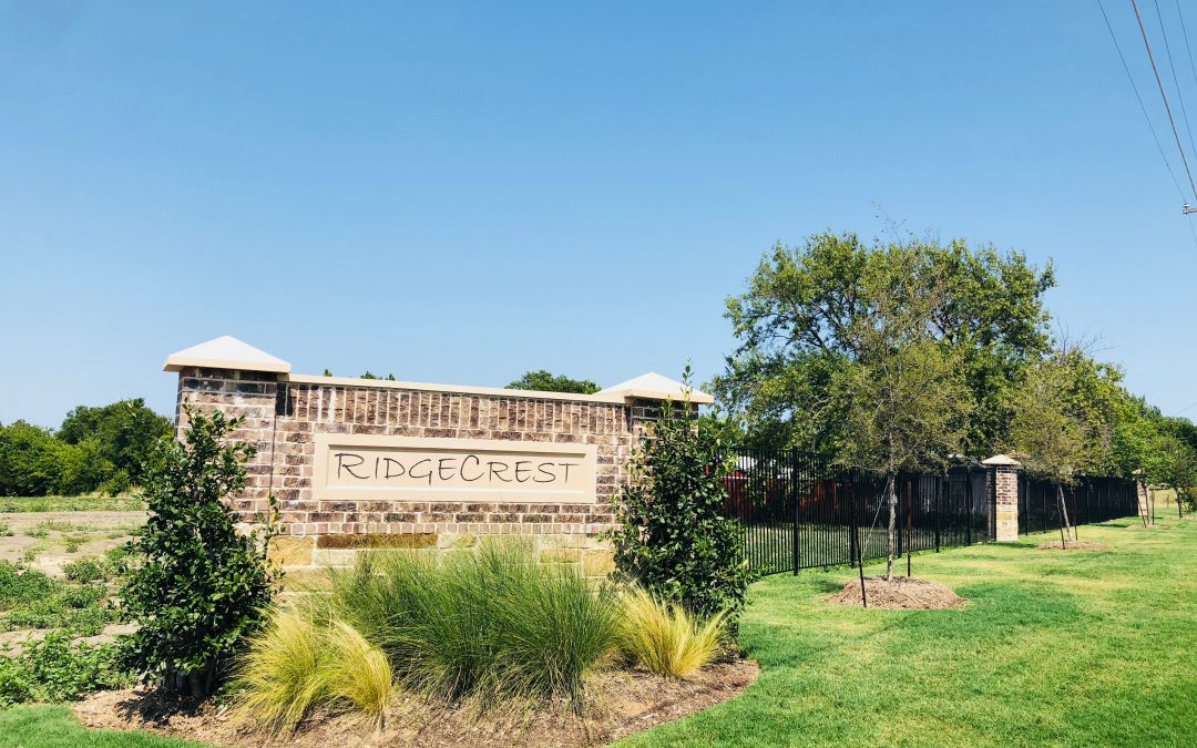 Ridgecrest Subdivision In Rockwall