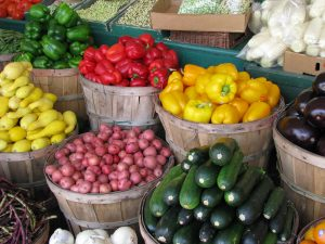 Rockwall Farmer's Market Vegetables